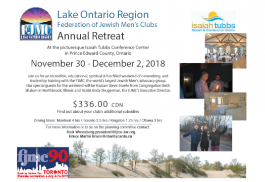 Lake Ontario 2018 Retreat
