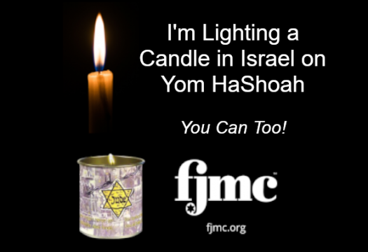 Yellow Candle(TM) in Israel Program - click here to purchase